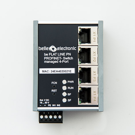 be PN managed Switch 4-Port