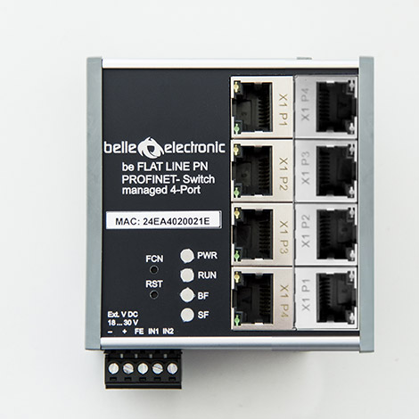be PN managed Switch 8-Port